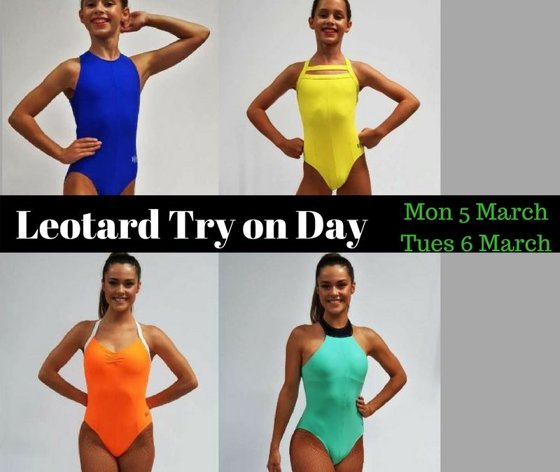 Leotard Try On Day