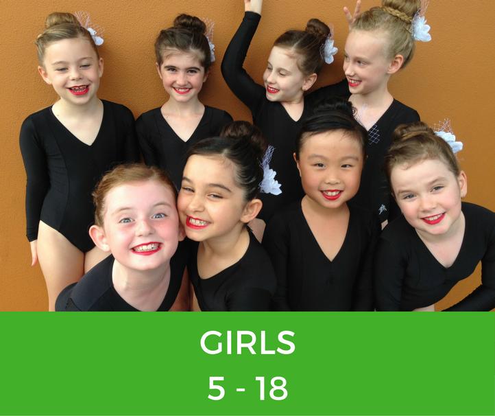 Brisbane North Physie - Preschool childrens Teens Ladies Dance Classes